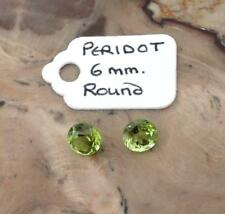 Natural Round Loose Peridots