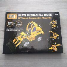 Heavy mechanical truck metal construction kit toy / Like meccano
