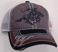 Hat Cap Winchester Corner Bill White Mesh Grey Black OC