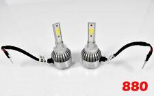 FOG LIGHT 898 880 6000K white HEADLIGHT 36W X2 3800LM LED bulbs HIGH POWER COB