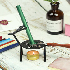 Retro Deer Sealing Wax Furnace Beads Warmer Melting Glue Stove Pot for Wax Stamp