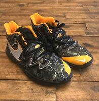 Nike Kyrie 5 Taco Basketball Shoes Multicolor Size 3.5Y [AQ2456-902]