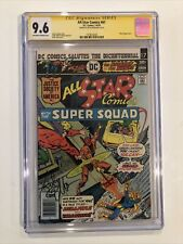 All-Star Comics #61 CGC 9.6 SS Keith Giffen JUSTICE SOCIETY 1976