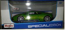 Lamborghini Huracan LP 610-4 Die-cast Car 1:24 Maisto 7.75 inches Green