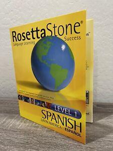 Rosetta Stone Spanish (Latin America) Level 1 New