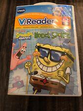 NEW VTech V.Reader SPONGEBOB SQUAREPANTS MODEL SPONGE Book/Cartridge