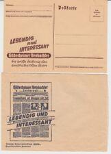 Hildesheim  Werbung  Postkarte + Umschlag  Hildesheimer Beobachter