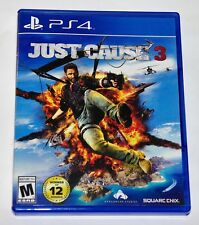 Replacement Case (NO GAME) Just Cause 3 Playstation 4 Original Box