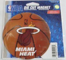 NBA NIB 4 INCH AUTO MAGNET - MIAMI HEAT