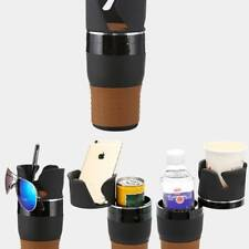Auto Car Multi Cup Case Storage Organizer Bottle Phone Holder 360° Rotation