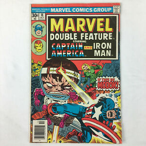 Marvel Double Feature Starring Captain America and Iron Man No 18 Oct 1976 GC