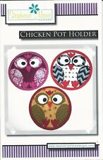 Chicken Pot Holder Pattern by Stephanie Marie Designs SMD117
