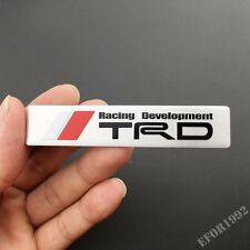 Aluminum TRD Sport Badge Emblem Decal Sticker Fit For Toyota Corolla Yaris Camry