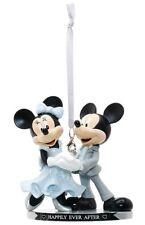 Mickey & Minnie Wedding Christmas Decoration Cake Topper Walt Disney World Gift