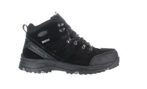 Skechers Mens Relaxed Grey Hiking Boots Size 13 (1856191)
