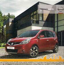 Nissan Note 2010-11 UK Market Sales Brochure Visia Acenta Tekna 1.4 1.6 1.5dCi