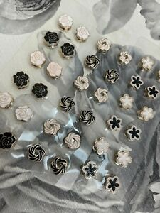 Magnetic Round Brooch/ Clip Hijab Pin Headscarf Abaya Clasp Scarf Crystal 2 Pcs