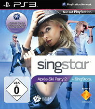 SingStar: Après-Ski Party 2 (Sony PlayStation 3) PS3 Spiel OVP, PAL, SEHR GUT