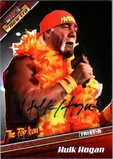 TNA Hulk Hogan H5 2010 Tristar New Era RED Authentic Autograph Card SN 2 of 9