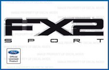 2010 Ford F150 FX2 Sport Decals FB Stickers Truck Bed Side set graphics blackout