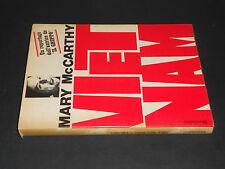 Mary McCarthy VIETNAM 1^ Ediz. 1968 Mondadori