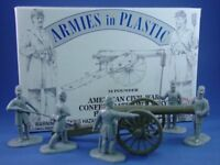 ARMIES IN PLASTIC 5501 Civil War Confederate Artillery 24 Pound Cannon FREE SHIP
