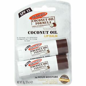 Palmer's Coconut Oil Formula Lip Balm Duo (with SPF 15) | Pack of 2-Exp.03/2...