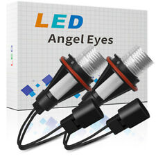 White Angel Eyes Halo 20W LED Ring Marker Light Bulbs For BMW X5 E39 E60 E63 E61