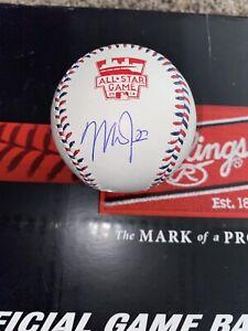 AUTOGRAPHED MIKE TROUT 2014 MLB BASEBALL MLB CERT PSA DNA CERT