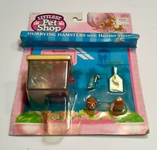 1992 HASBRO LITTLEST PET SHOP HURRYING HAMSTERS HOUSE MOSC Vintage Old Toy