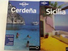 Guia Lonely Planet Cerdeña edición 2012+ Sicilia edición 2008