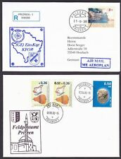 Kosovo 2000-2005 5 Covers and 1 Postal card