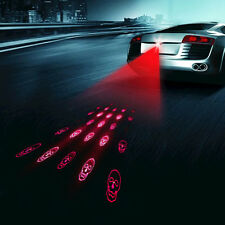 Car Auto LED Laser Fog Light Anti-collision Taillight Rear Brake Warning Lamp