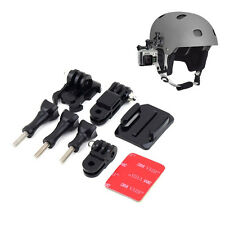 Helmet Side Mount Kit Adjustment Curved Adhesive For GoPro HD Hero 1 2 3 3+ 4 UK