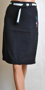 CHUKKA NAVY  ALMOST BLACK SKIRT SIZE 8 ONLY - T1