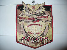 OA Wichita Lodge 35,2009 NOAC,2,Two Part Set, Angry Horned Toad, DEL,NW Texas,TX