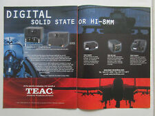 5/2001 PUB TEAC 8GB SOLID STATE MISSION DATA RECORDER MDR-80 F-16 F-18 HELMET AD