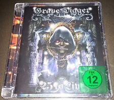 GRAVE DIGGER 25 To Live DVD ALL REGION RUNNING WILD/MANOWAR/ACCEPT/SINNER/ANVIL