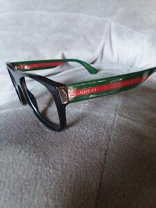 Gucci Mens Rectangular Sunglass Frames w/  No Lenses