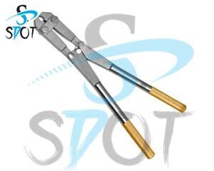 "Pin End Cutting Plier upto 6mm TC Gold 18"" Orthopedic,Veterinary SdOt Instrument"