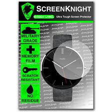 Screenknight Motorola Moto 360 Smart Watch Protector De Pantalla Invisible Shield