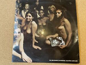 """Electric Ladyland - the Jimi Hendrix Experience - UK 1ST Pressing - 12 """" LP"""