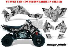 Amr racing décor Graphic Kit ATV suzuki ltr 450 Lt-r camoplate B