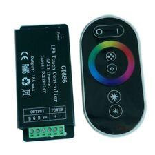 18A RGB Touch dimmer controller GT666 for RGB led strip light DC 12V-24V 6Ax3CH