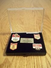 1988 BUDWEISER SEOUL KOREA US OLYMPIC GAMES COMMEMORATIVE PIN SET TEAM USA