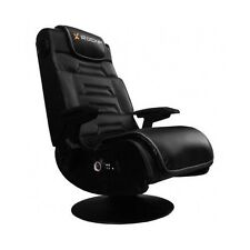 Wireless Pedestal Gaming Chair Video Pro Games Music Speakers Swivels Ergonomic