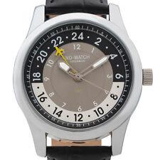 24 Stunden GMT uhr mit Schweizer Quarz Uhrwerk. Limitierte Auflage 500 stück