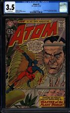 Atom 1 CGC 3.5 OW Silver Age Key DC Comic 1st Issue in Title Pedgiree IGKC L@@K