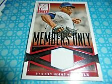 2015 Elite Baseball Members Only Relic card 24 Roenis Elias