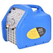 HVAC Refrigerant Recovery Machine 110V 60Hz Compact Portable Unit Blue New